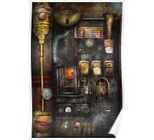 Steampunk - All that for a cup of coffee Poster