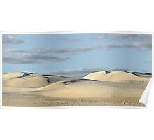 Lancelin Sand Dunes - Western Australia Poster