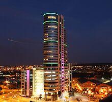 Leeds skyline by asainter