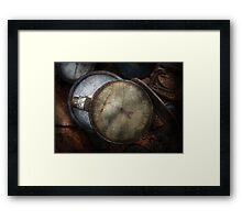 Steampunk - Gauge for sale Framed Print
