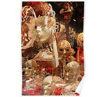 Carnival masks - Venice Poster