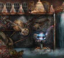 Steampunk - Industrial Society by Mike  Savad