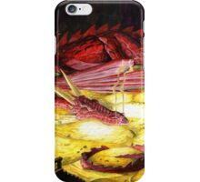 Smaug the golden iPhone Case/Skin