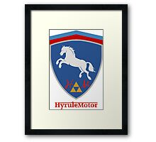 Hyrule Motors  Framed Print