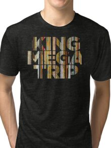 King Megatrip Neo Logo - Vinyl Tri-blend T-Shirt