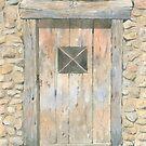 Old Door, Lavaudieu, France by ian osborne