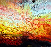 Liquid Acrylic Paint Explosion by markchadwick