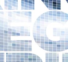 King Megatrip Neo Logo - Mosaic Sticker