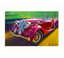 1938 Triumph Dolomite Art Print