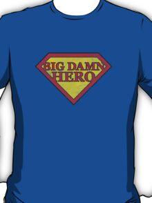 Big Damn Hero - Distressed  T-Shirt