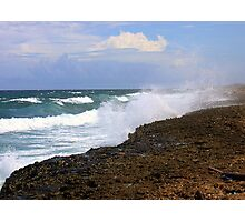Aruba the Windward Side  Photographic Print