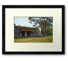 The Red Verandah Framed Print