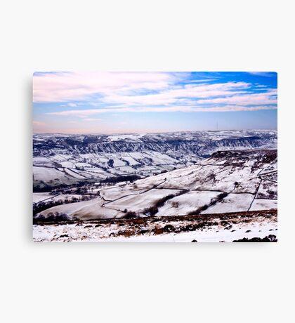 Farndale in Winter Canvas Print