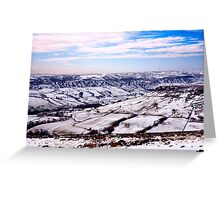 Farndale in Winter Greeting Card