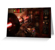 Steampunk - Photonic Experimentation Greeting Card