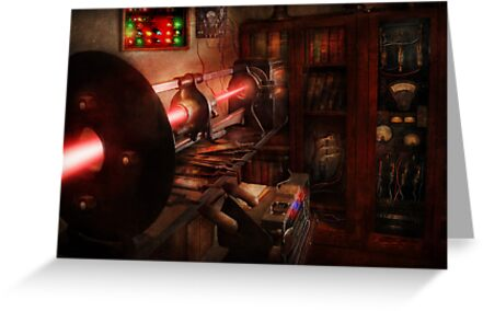 Steampunk - Photonic Experimentation by Mike  Savad
