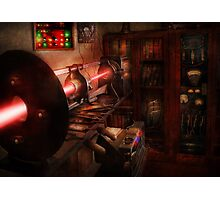 Steampunk - Photonic Experimentation Photographic Print