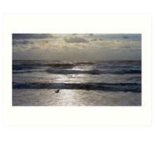 Hatteras Surf  Art Print