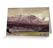 Ingleborough in the Yorks Dales Greeting Card