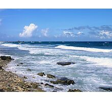 Waves, Wind and Surf  Photographic Print