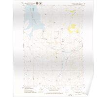 USGS Topo Map Oregon Winnemucca Creek 282123 1979 24000 Poster