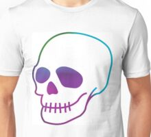 Multicoloured Skull Unisex T-Shirt
