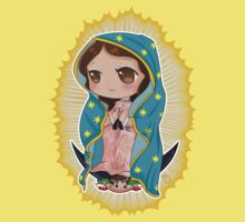 Chibi Our Lady of Guadalupe One Piece - Short Sleeve