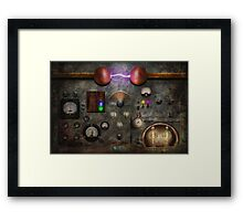 Steampunk - The Modulator Framed Print