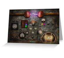 Steampunk - The Modulator Greeting Card