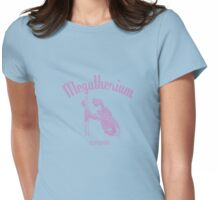 Megatherium (Until 8000BC) - pink Womens Fitted T-Shirt