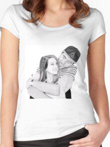 Zalfie Women's Fitted Scoop T-Shirt