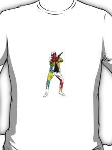 Hunter S. Thompson graphic splash T-Shirt