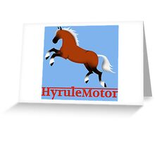 Hyrule Motor color Greeting Card