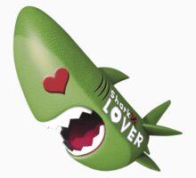 Sharky Lover 04 Kids Tee