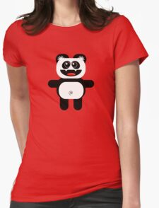 PANDA Womens Fitted T-Shirt