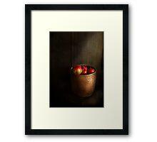 Chef - Fruit - Apples Framed Print