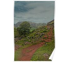 Path to Red Pike, Lake District Poster