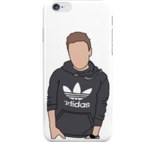 Liam Payne Adidas Cartoon (White) iPhone Case/Skin