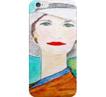Harriette (From the Mona Lisa Smiles Series) iPhone Case/Skin