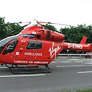 G-EHMS MD Helicopters MD 900 London Air Ambulance by J0KER