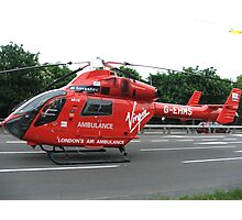 G-EHMS MD Helicopters MD 900 London Air Ambulance Photographic Print