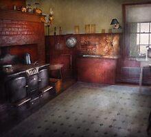 Kitchen - Storybook cottage kitchen by Mike  Savad