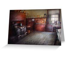 Kitchen - Storybook cottage kitchen Greeting Card