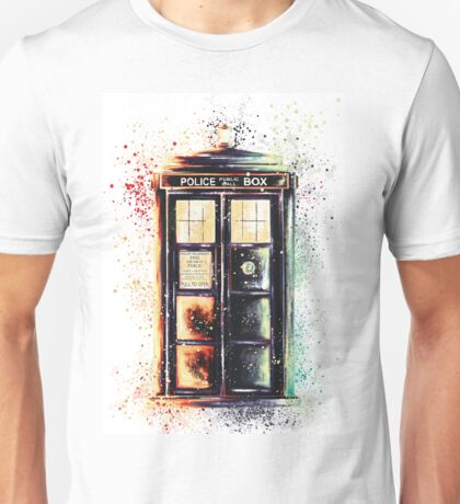 Coloured Time And Relative Dimension In Space Unisex T-Shirt