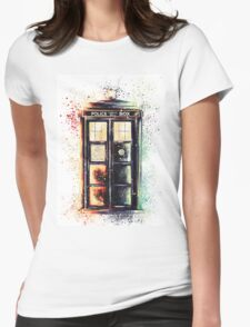 Coloured Time And Relative Dimension In Space Womens Fitted T-Shirt