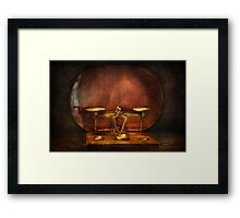 Pharmacy - Balancing Act  Framed Print