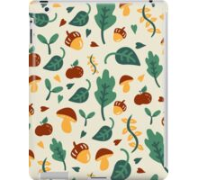 Cute Fall Design iPad Case/Skin