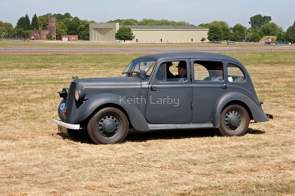An 8hp Austin in use during WW2 by Keith Larby