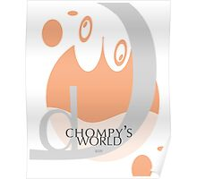 Chompy's World | Letter D Poster