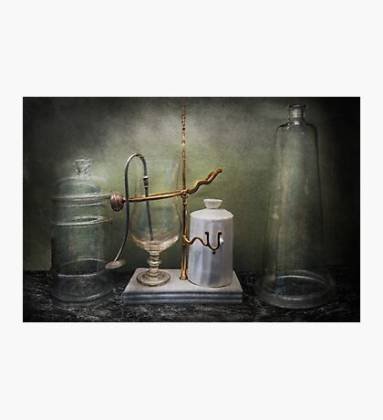 Pharmacy - Victorian Apparatus  Photographic Print